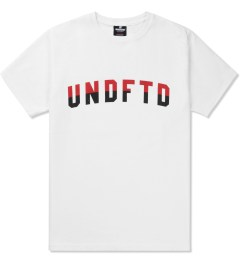 Undefeated White Two Tone T-Shirt Picture