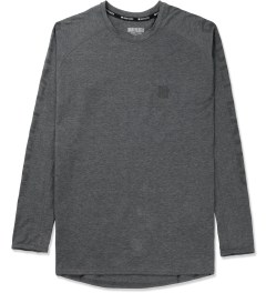 Undefeated Dark Grey Heather Technical II L/S T-Shirt Picture