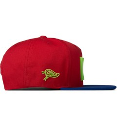 Hall of Fame Red All Star Snapback Model Picutre