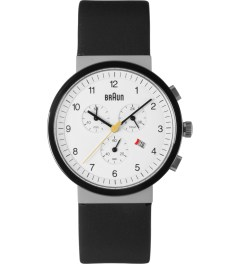 Braun White BN0035WHSLBKG Watch Picture