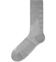 ICNY Heather Grey Half Calf Gradient Socks Picture