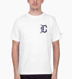 CLSC White Troit T-Shirt Model Picutre