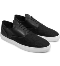 Filling Pieces TSA Woven Black New Era Sneakers Model Picutre