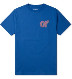 Odd Future Royal Blue Optical Donut T-Shirt Picture
