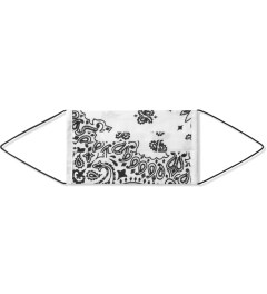 PHENOMENON White Bandana Print Mask Picutre