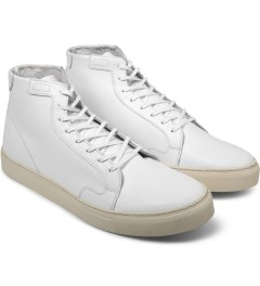 piola White/White Sole IBERIA Shoes Model Picutre