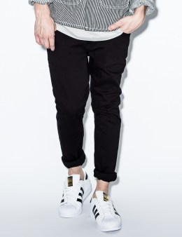 Nudie Jeans Black/Black Skinny Lin Denim Jeans Picture