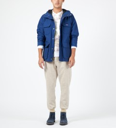 Penfield Blue Kasson Mountain Parka Model Picture