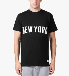 Stampd Black New York T-Shirt Model Picutre