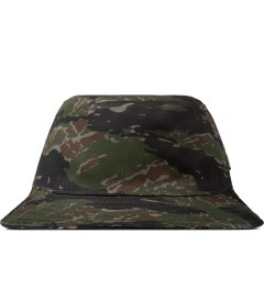 HUF Olive/Black Reversible Tiger Camo Bucket Hat Picture