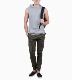 ZANEROBE Dark Khaki Buckshot Pant Model Picture