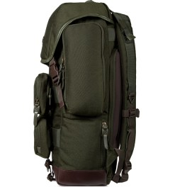 BLC Khaki Urban Backpack Model Picture