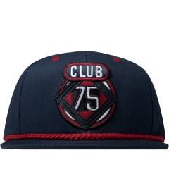 CLUB 75 HUF x Club 75 Navy Rhombus Starter Cap Picutre