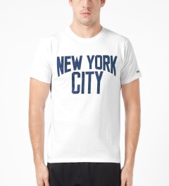 Medicom Toy White New York City T-Shirt Model Picture
