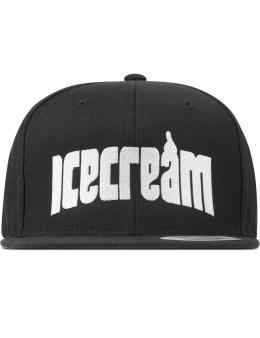 ICECREAM Black Arch Logo Cap Picture