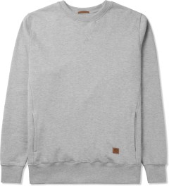 UNYFORME Heather Grey Jones Crewneck Sweater Picutre