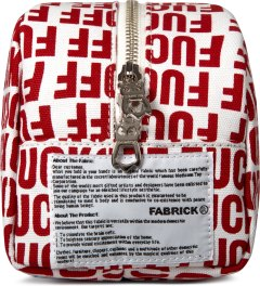 Medicom Toy Red Large Travel Pouch By FABRICK Model Picutre