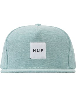 HUF Green Oxford Box Logo Snapback  Picture