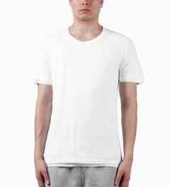 KRISVANASSCHE White T-Shirt Model Picture