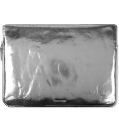 "Wood Wood Silver 15"" Laptop Bag Picutre"