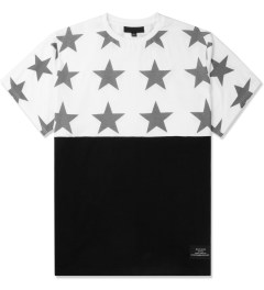 Black Scale White All Star T-Shirt Picture