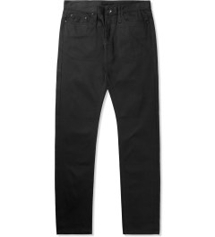 The Unbranded Brand UB255 Black Tapered Fit Jeans Picture