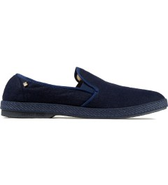 Rivieras Dark Navy Manoir II Feutre Slip-On Shoes Picutre