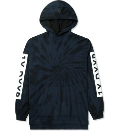 10.Deep Navy Tie-dye Hooded T-Shirt Picture