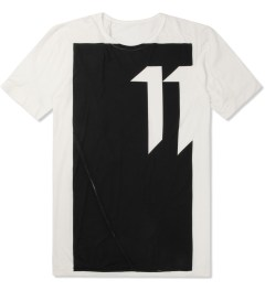 11 By Boris Bidjan Saberi White TS-1 T-Shirt Picture