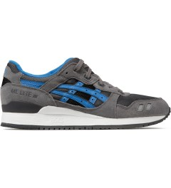 ASICS Grey/Mid Blue Asics Gel Lyte III Sneakers Picture