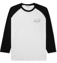 FUCT SSDD White/Black Boobies Raglan T-Shirt Picture