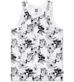 HUF White/Black Floral Tank Top Picture