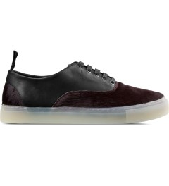 SILENT Damir Doma Black/Burgundy Falcata Shoes Picture