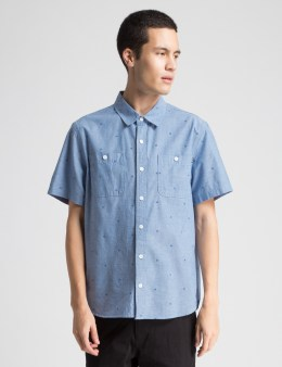 HUF Blue Payday Chambray Shirt Picture