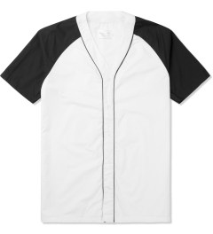 Shades of Grey by Micah Cohen White/Black Bandana Baseball Shirt Picture