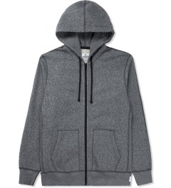 Reigning Champ Charcoal RC-3260 Heavyweight Terry L/S Zip Front Hoodie Picture