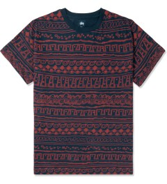 Stussy Dark Navy Tom Tom S/S Crewneck T-Shirt Picture