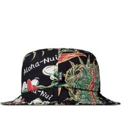 HUF Black Souvenir Bucket Hat Model Picture