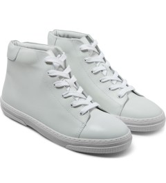 A.P.C. Couleur Montante Tennis Shoes Model Picutre