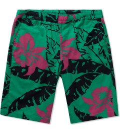 HUF Teal Copacabana Easy Shorts Picture