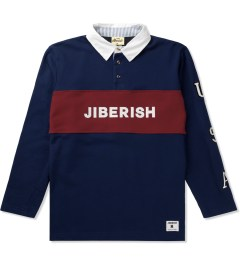 Jiberish Red/Blue USA Rugby Polo Shirt Picture