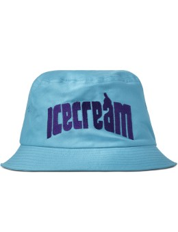 ICECREAM Light Blue ICECREAM Arch Logo Bucket Hat Picture