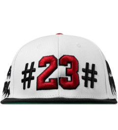 BEENTRILL White Mike Will 23 Snapback Cap Picutre