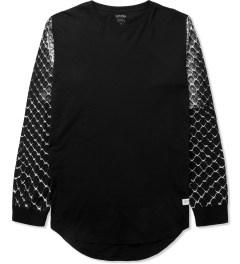 Stampd Black Snake Skin L/S T-Shirt Picture