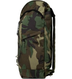 Epperson Mountaineering Mil-Spec Woodland Camo Large Climb Backpack Model Picutre