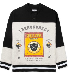 The Hundreds Black Pitch Crewneck Sweater Picutre