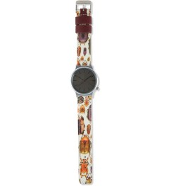 KOMONO Entomology Wizard Print Watch Model Picture