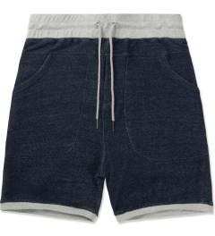 Thing Thing Navy Grain Shinobi Shorts Picutre