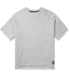10.Deep Heather Grey Kramer S/S Crewneck Sweater Picutre