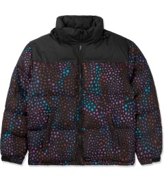 Lazy Oaf Black Midnight Lizard Puffer Jacket Picture